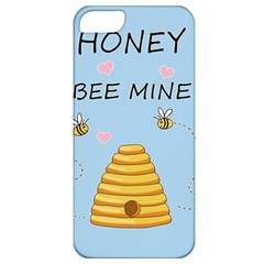Bee Mine Valentines Day Apple Iphone 5 Classic Hardshell Case by Valentinaart