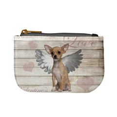 Vintage Chihuahua   Valentines Day Mini Coin Purses by Valentinaart