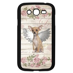Vintage Chihuahua   Valentines Day Samsung Galaxy Grand Duos I9082 Case (black) by Valentinaart