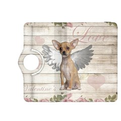 Vintage Chihuahua   Valentines Day Kindle Fire Hdx 8 9  Flip 360 Case by Valentinaart
