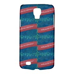 Valentine Day Pattern Galaxy S4 Active by dflcprints