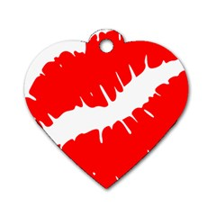Lips 161956 640 Dog Tag Heart (two Sides) by belezabrazuca70