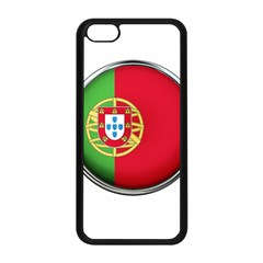Portugal Flag Country Nation Apple Iphone 5c Seamless Case (black) by Nexatart