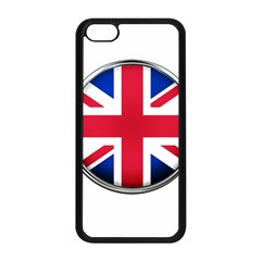 United Kingdom Country Nation Flag Apple Iphone 5c Seamless Case (black) by Nexatart