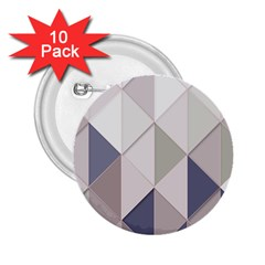 Background Geometric Triangle 2 25  Buttons (10 Pack)  by Nexatart