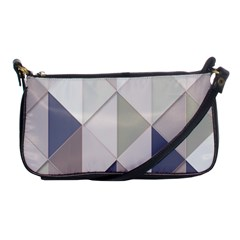 Background Geometric Triangle Shoulder Clutch Bags by Nexatart