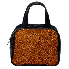 Sparkling Glitter Terra Classic Handbags (one Side) by ImpressiveMoments