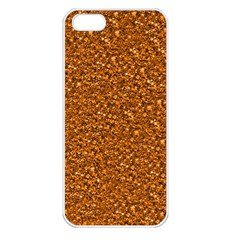 Sparkling Glitter Terra Apple Iphone 5 Seamless Case (white) by ImpressiveMoments