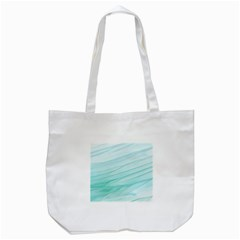 Blue Texture Seawall Ink Wall Painting Tote Bag (white) by Nexatart