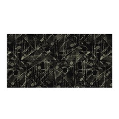 Abstract Collage Patchwork Pattern Satin Wrap by dflcprints