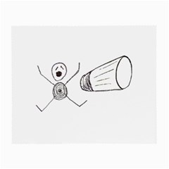 Violence Concept Drawing Illustration Small Small Glasses Cloth by dflcprints