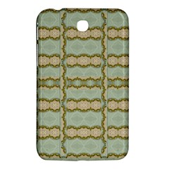 Celtic Wood Knots In Decorative Gold Samsung Galaxy Tab 3 (7 ) P3200 Hardshell Case  by pepitasart