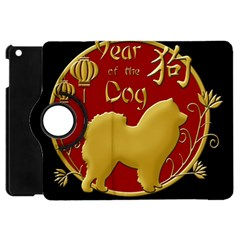 Year Of The Dog   Chinese New Year Apple Ipad Mini Flip 360 Case by Valentinaart
