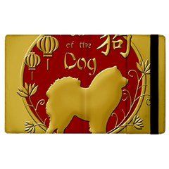 Year Of The Dog   Chinese New Year Apple Ipad 3/4 Flip Case by Valentinaart