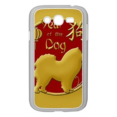 Year Of The Dog   Chinese New Year Samsung Galaxy Grand Duos I9082 Case (white) by Valentinaart