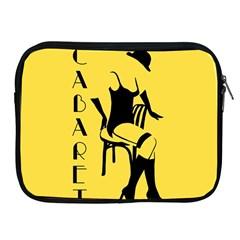 Cabaret Apple Ipad 2/3/4 Zipper Cases by Valentinaart