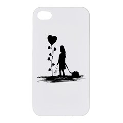 Sowing Love Concept Illustration Small Apple Iphone 4/4s Premium Hardshell Case by dflcprints