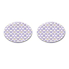 Decorative Ornate Pattern Cufflinks (oval) by dflcprints