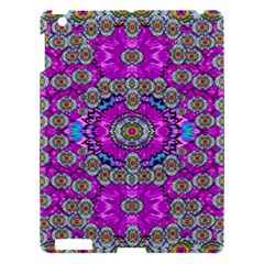 Spring Time In Colors And Decorative Fantasy Bloom Apple Ipad 3/4 Hardshell Case by pepitasart