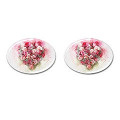 Flowers 2548756 1920 Cufflinks (oval) by vintage2030