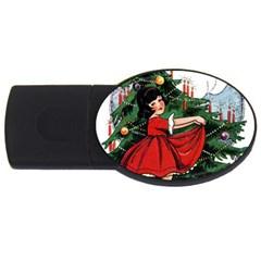 Christmas 1912802 1920 Usb Flash Drive Oval (2 Gb) by vintage2030