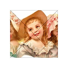 Girls 1827219 1920 Acrylic Tangram Puzzle (4  X 4 ) by vintage2030