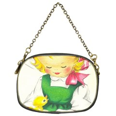 Girl 1731722 1920 Chain Purses (one Side)  by vintage2030