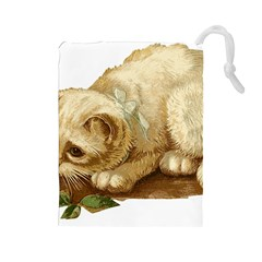 Cat 1827211 1920 Drawstring Pouches (large)  by vintage2030
