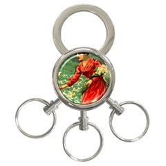 Lady 1334282 1920 3 Ring Key Chains by vintage2030