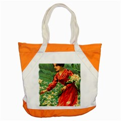 Lady 1334282 1920 Accent Tote Bag by vintage2030