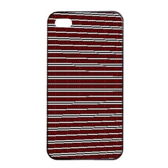 Indian Stripes Apple Iphone 4/4s Seamless Case (black) by jumpercat