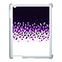 Flat Tech Camouflage Reverse Purple Apple Ipad 3/4 Case (white) by jumpercat