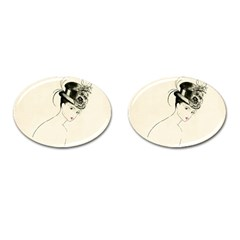 Vintage 2517507 1920 Cufflinks (oval) by vintage2030
