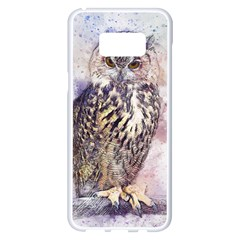 Bird 2552769 1920 Samsung Galaxy S8 Plus White Seamless Case by vintage2030