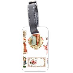 Children 1436665 1920 Luggage Tags (one Side)  by vintage2030