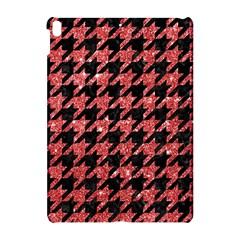 Houndstooth1 Black Marble & Red Glitter Apple Ipad Pro 10 5   Hardshell Case by trendistuff