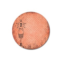 Body 1763255 1920 Magnet 3  (round) by vintage2030
