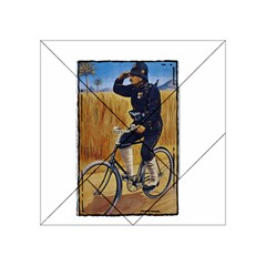 Policeman 1763380 1280 Acrylic Tangram Puzzle (4  X 4 ) by vintage2030
