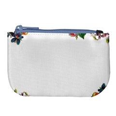 Flower 1770191 1920 Large Coin Purse by vintage2030
