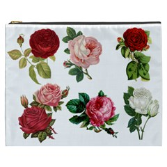 Roses 1770165 1920 Cosmetic Bag (xxxl)  by vintage2030