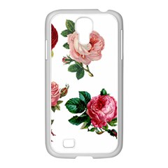 Roses 1770165 1920 Samsung Galaxy S4 I9500/ I9505 Case (white) by vintage2030