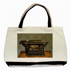 Typewriter Basic Tote Bag by vintage2030