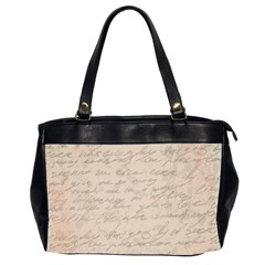 Letter Office Handbags (2 Sides)  by vintage2030