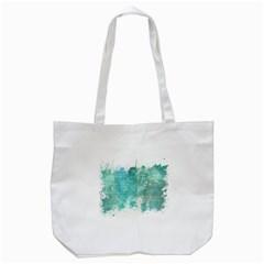 Splash Teal Tote Bag (white) by vintage2030