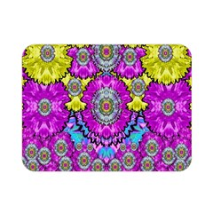 Fantasy Bloom In Spring Time Lively Colors Double Sided Flano Blanket (mini)  by pepitasart