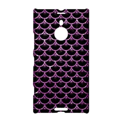 Scales3 Black Marble & Purple Glitter (r) Nokia Lumia 1520 by trendistuff