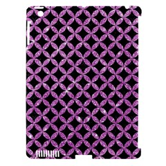 Circles3 Black Marble & Purple Glitter (r) Apple Ipad 3/4 Hardshell Case (compatible With Smart Cover) by trendistuff