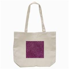Brick1 Black Marble & Purple Glitter Tote Bag (cream) by trendistuff