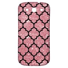 Tile1 Black Marble & Pink Glitter Samsung Galaxy S3 S Iii Classic Hardshell Back Case by trendistuff