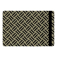 Woven2 Black Marble & Khaki Fabric Apple Ipad Pro 10 5   Flip Case by trendistuff